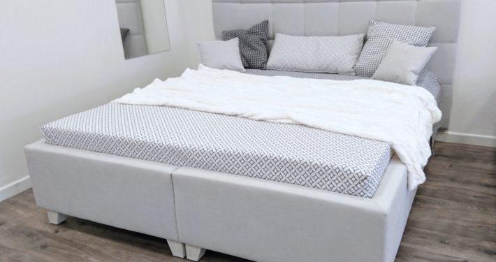 Vysoká postel s úložným prostorem