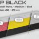 matrace SLEEP BLACK